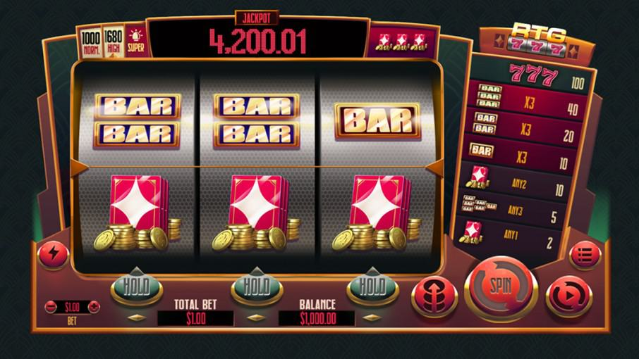 777 Pokie by RTG