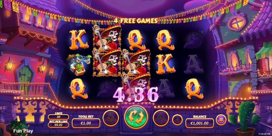 Diamond Fiesta Slot by RTG at Raging Bull Casino