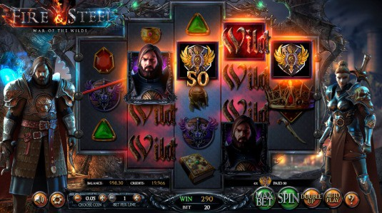 Fire and steel win - play pokies online