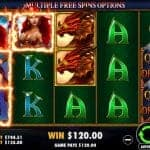 Tangiers Casino - Queen and the Dragons Pokie