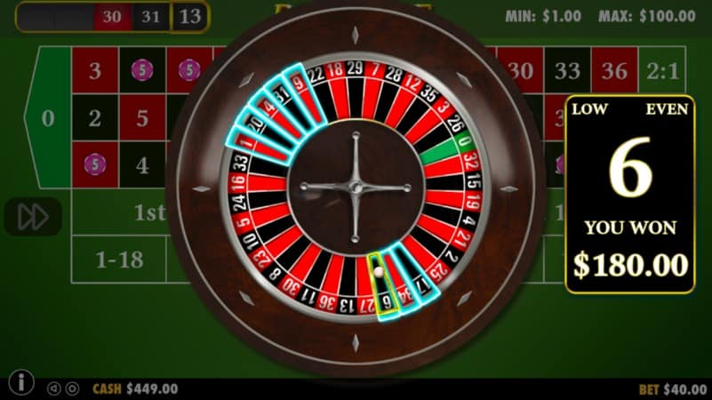 Tangiers Casino - Table Games - Roulette