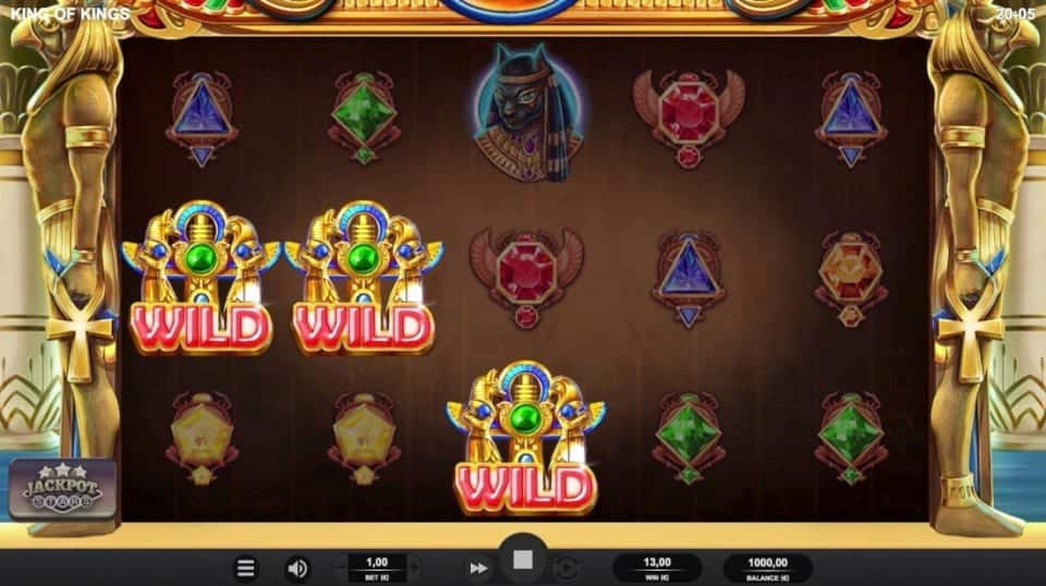 GetSlots Casino - King of Kings Slot by Relax Gaming
