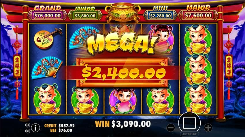 Caishen's Fortune Pokie by IGTech at Casinonic