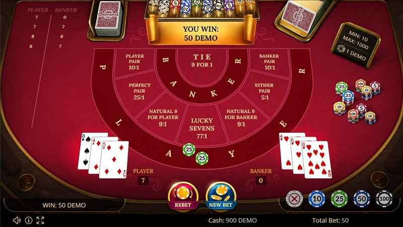 Fast Pay Casino - Baccarat 777 Game by Evoplay