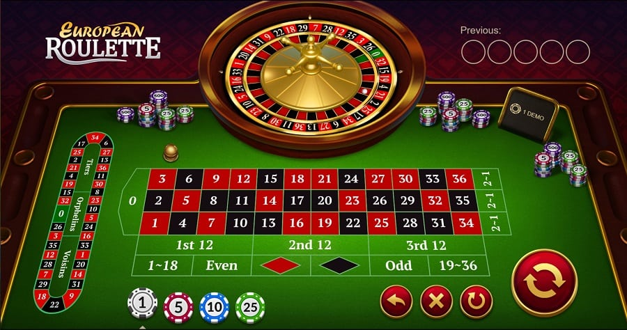 Fast Pay Casino - European Roulette Game
