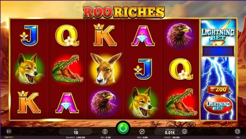 King Billy Casino - Roo Riches Pokie by isoftbet