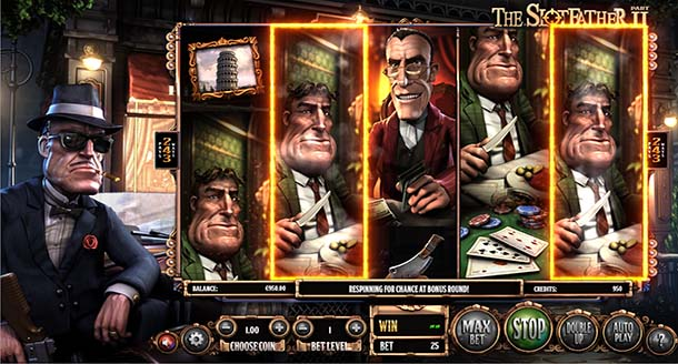 The Slotfather Part II at ViggoSlots Casino
