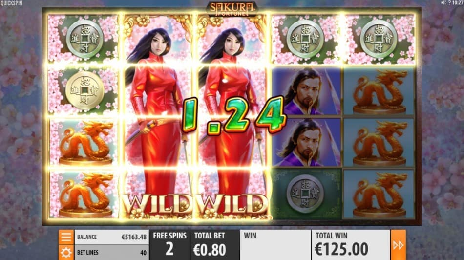 Golden Reels Casino Review - Sakura Fortune Pokie by Quickspin