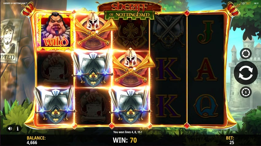 Sheriff of Nottingham Pokie by iSoftbet