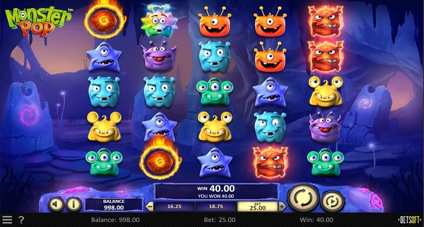 Casinomia Review - Monster Pop Pokie by BetSoft