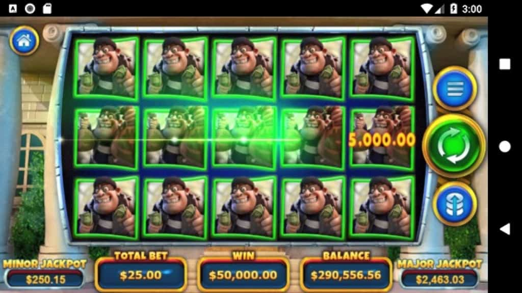 Ozwin Casino Review - Cash Bandits 3 - Big Win on Mobile