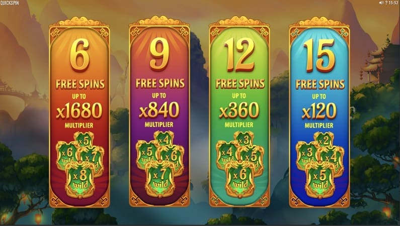 Eastern Emeralds Pokie by Quickspin at Pokie Place Casino