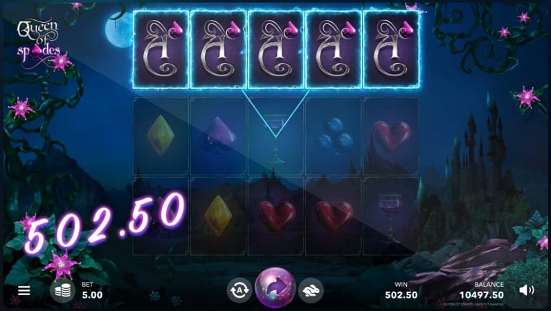 Queen of Spades Pokie by Mascot Gaming - QueenSpins Review