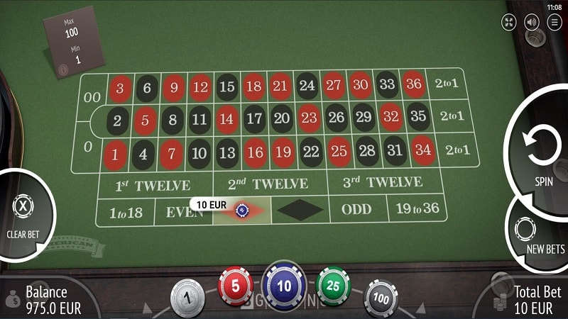 American Roulette Game by Bgaming